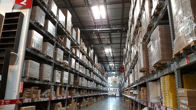 מידוף מחסנים חנויות ומפעלים